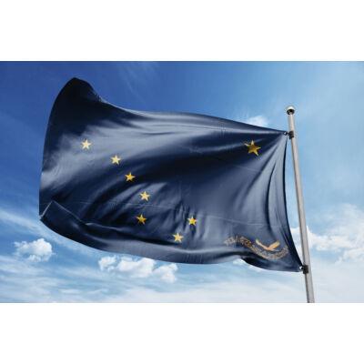 Alaszka zászlaja 40x60cm