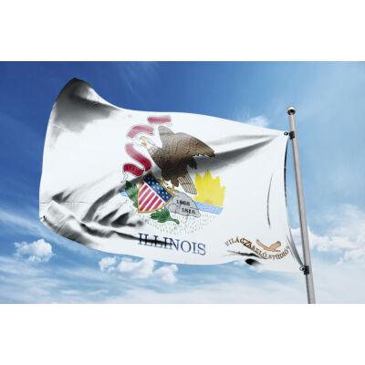 Illinois zászlaja 40x60cm