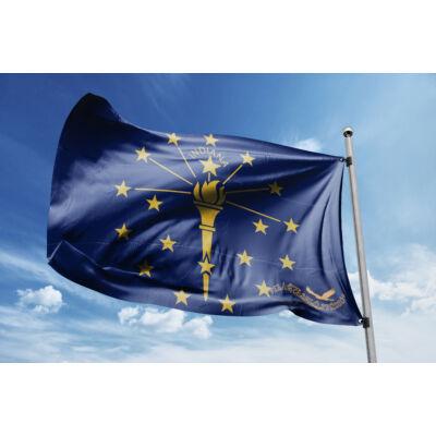 Indiana zászlaja 40x60cm