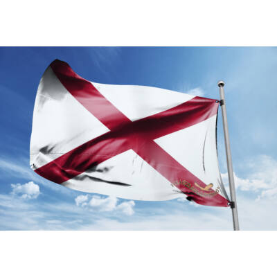Alabama zászlaja 40x60cm