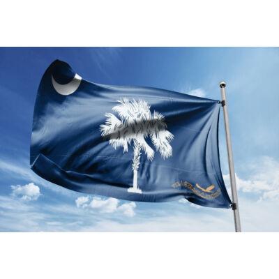 Dél-Karolina zászlaja 40x60cm