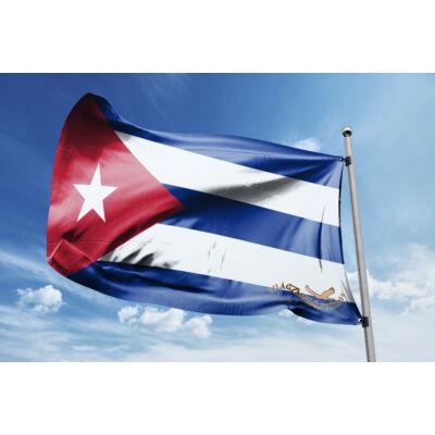 Kuba zászlaja 40x60cm