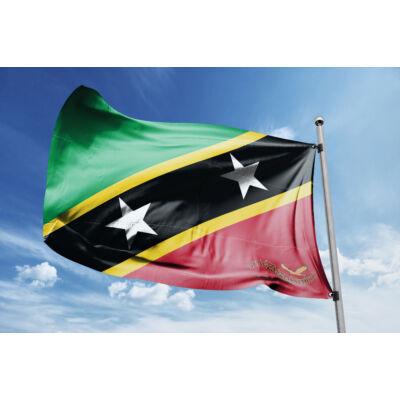 Saint Kitts és Nevis zászlaja 40x60cm
