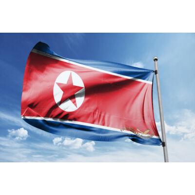 Észak-Korea zászlaja 40x60cm