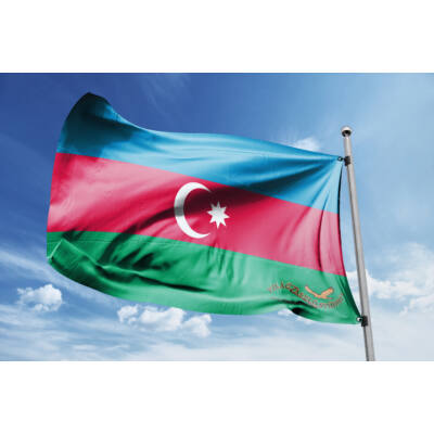Azerbajdzsán zászlaja 40x60 cm