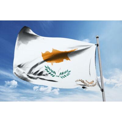 Ciprus zászlaja 40x60 cm