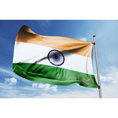 India zászlaja 40x60 cm