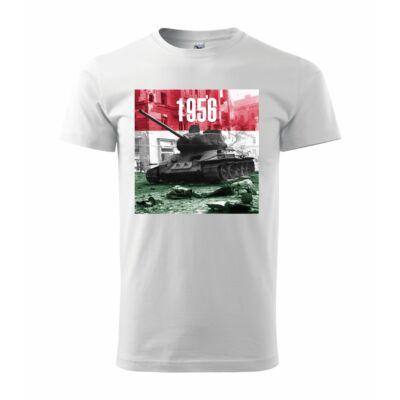 1956-os emlékév póló - B - fehér