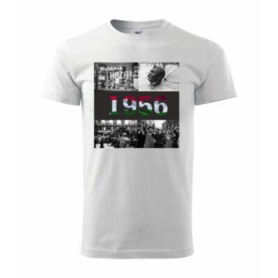 1956-os emlékév póló - C - fehér