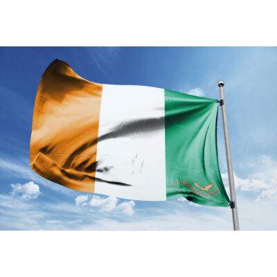Elefántcsontpart zászlaja 40x60cm