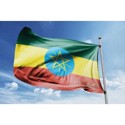 Etiópia zászlaja 40x60cm