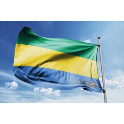 Gabon zászlaja 40x60cm