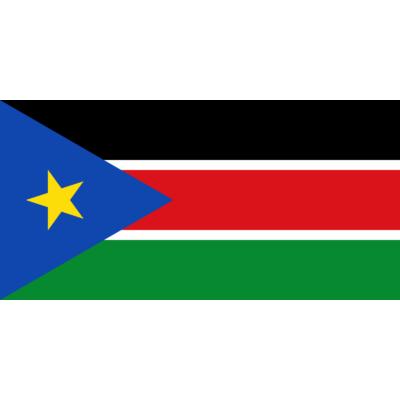 Dél-Szudán zászlaja 40x60cm
