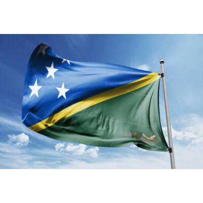Salamon-szigetek zászlaja 40x60cm