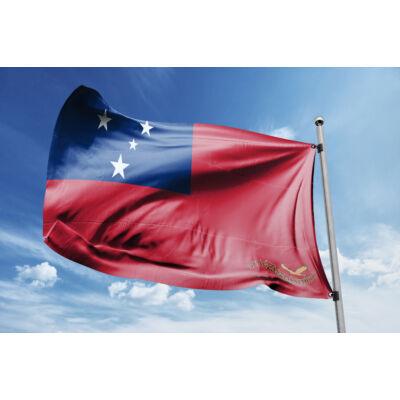 Szamoa zászlaja 40x60cm