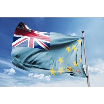 Tuvalu zászlaja 40x60cm
