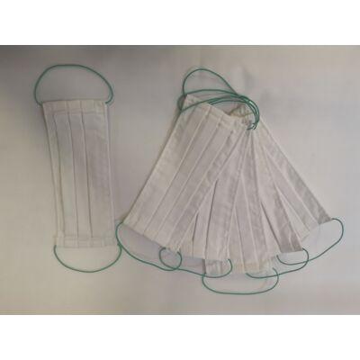 7. Mosható textil szájmaszk, pamut 700 Ft/db, 5 db/csomag