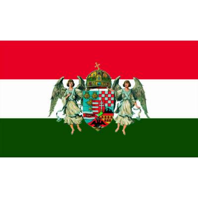 Angyalos címeres nemzeti díszzászló 100x170cm