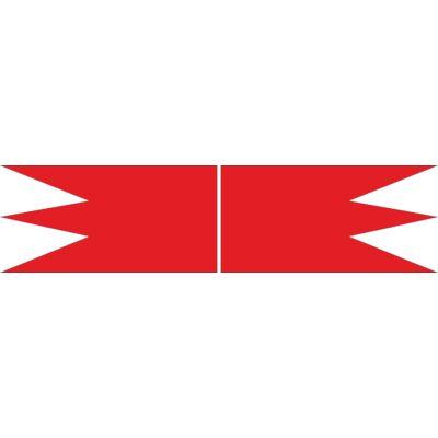 Szent István korabeli királyi zászló - beltéri 200x100
