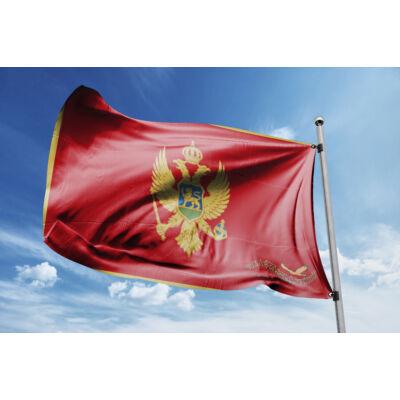 Montenegró zászlaja 40x60cm