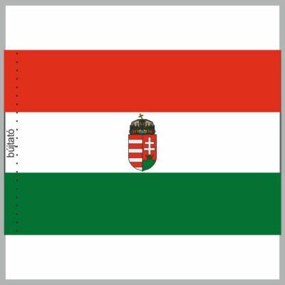 Nemzeti címeres rúddal együtt 90x150cm