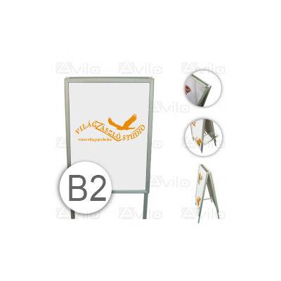 Megállítótábla - B2 + nyomat (textil) kétoldalon
