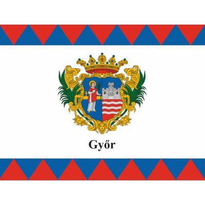 Győr város zászlaja 40x60cm