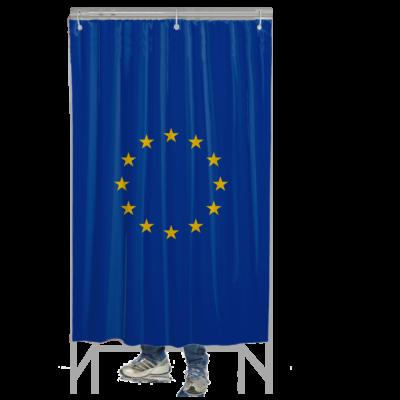 Szavazófülke függöny - Európai Uniós